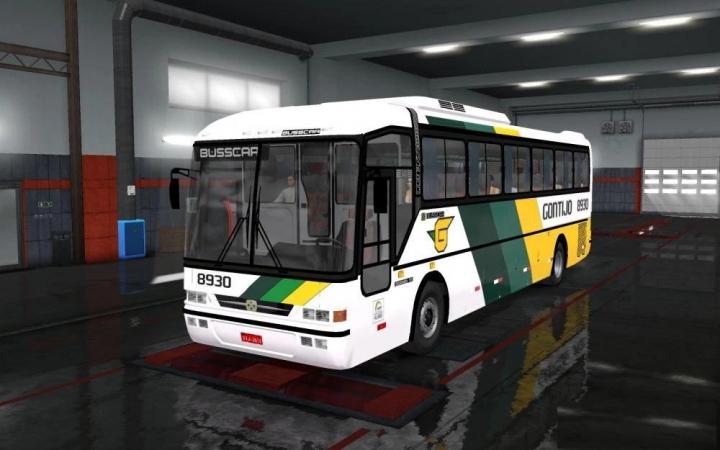 ETS2 - Busscar Jumbus 340 Scania Bus (1.39.x)