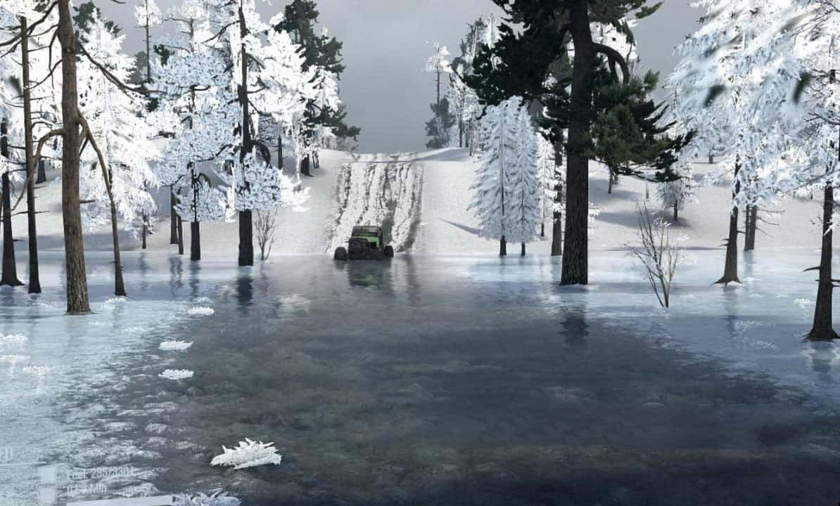 Spintires:Mudrunner - Muddy Ice Map V1.0