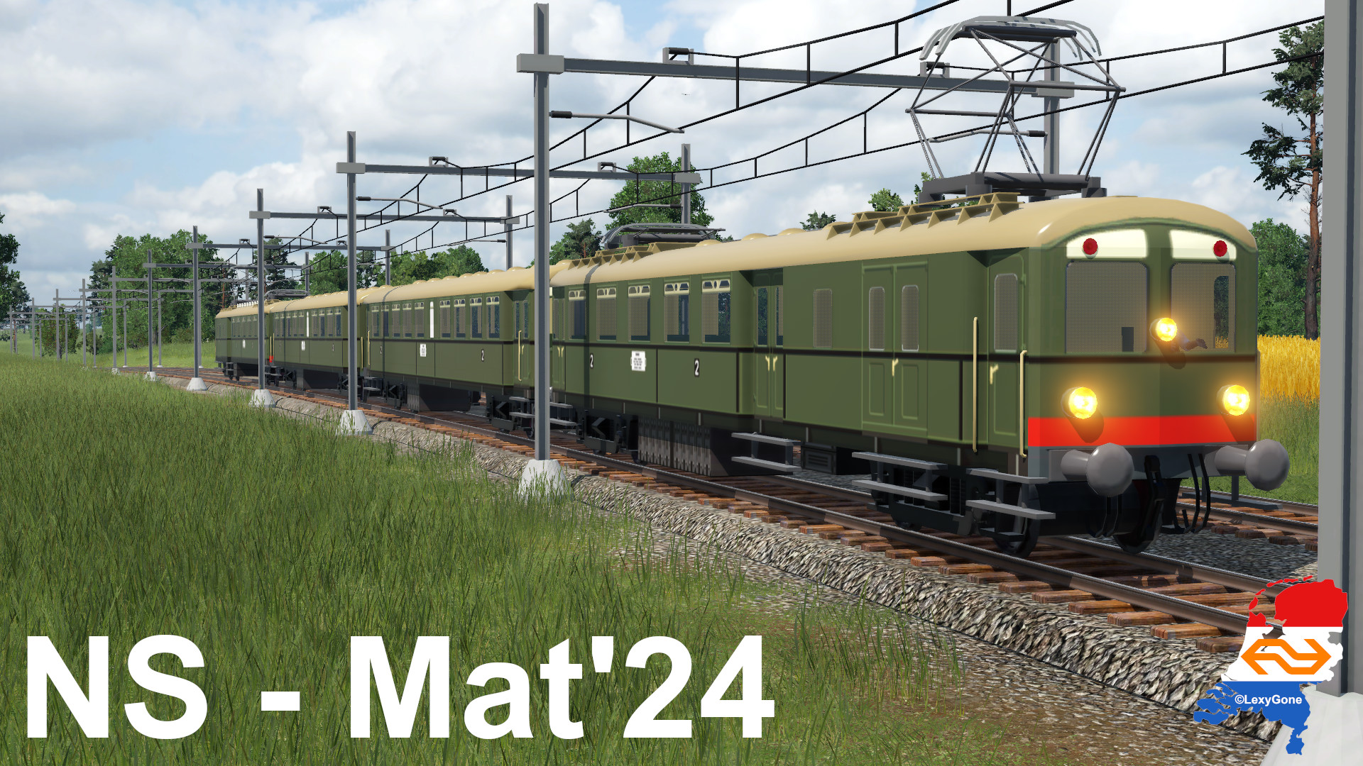 Transport Fever 2 - NS Mat 24 (Blokkendoos)