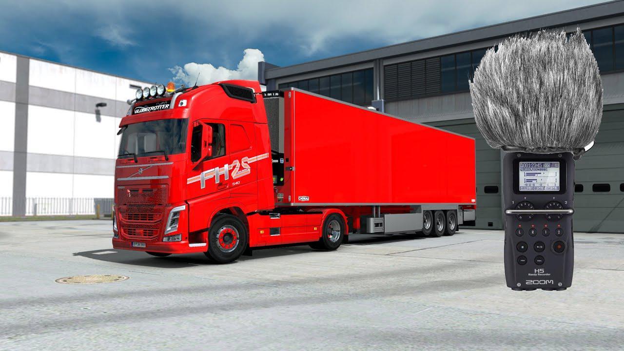 ETS2 - Volvo FH13-16 2012 Stock Sound V2.0 (1.36.x)