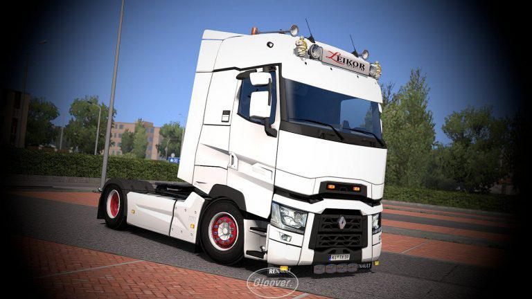 Ets2 Renault T Light Improvements Lowered Chassis V1 4