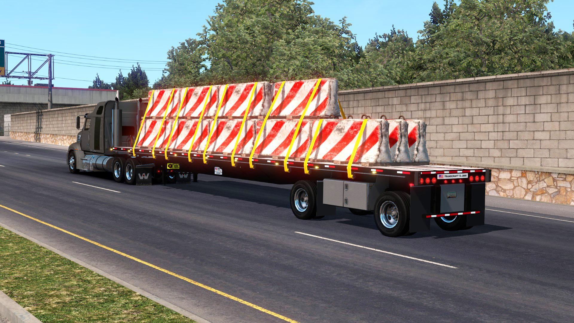 ATS - Transcraft TL2000 Flatbed V1.0 (1.36.x)