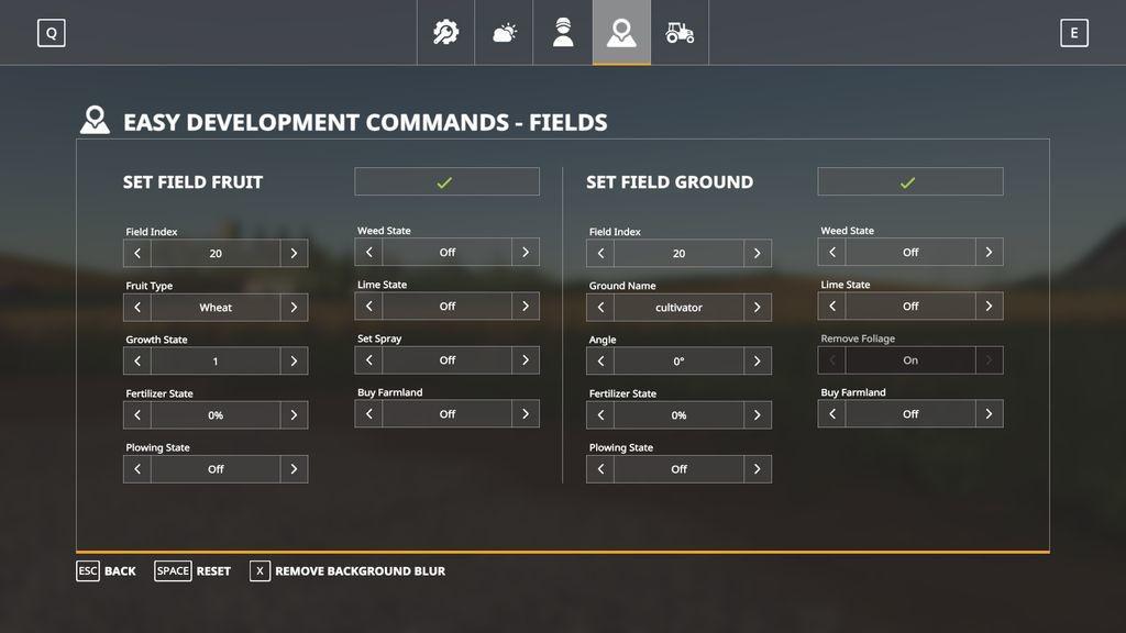 FS19 - Easy Development Controls V1.0