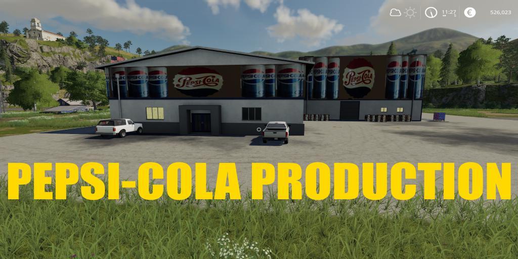 FS19 - PepsiCola Production V1.0