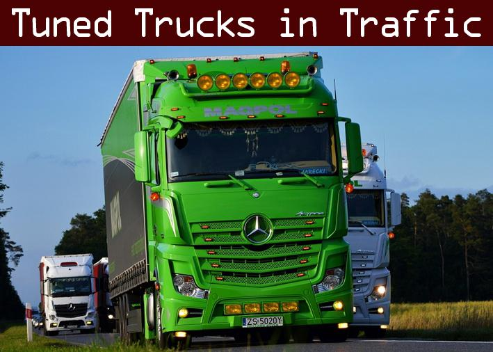 ETS2 - Tuned Truck Traffic Pack V1.6 (1.35.X)