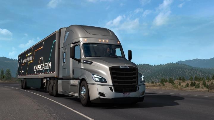 ETS2 - Freightliner Cascadia 2019 Truck V1.4 (1.41.x)