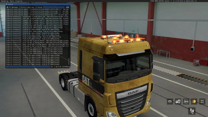 ETS2 - BigT Britax LED Beacons Pack Stable Version (1.40.x)