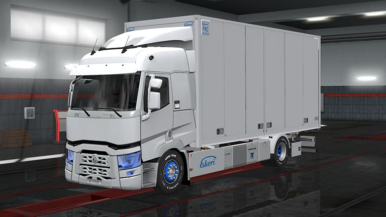 ETS2 - Rigid Chassis Pack for All SCS Trucks V3.0 (1.36.x)