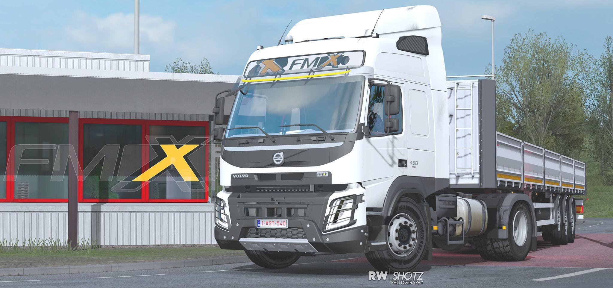 ETS2 - Volvo FM 500 & FMX V1.3 (1.38.x)