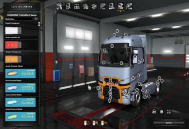 ETS2 - Fix New Pack Acssesiore – for All Trucks (1.36.x)