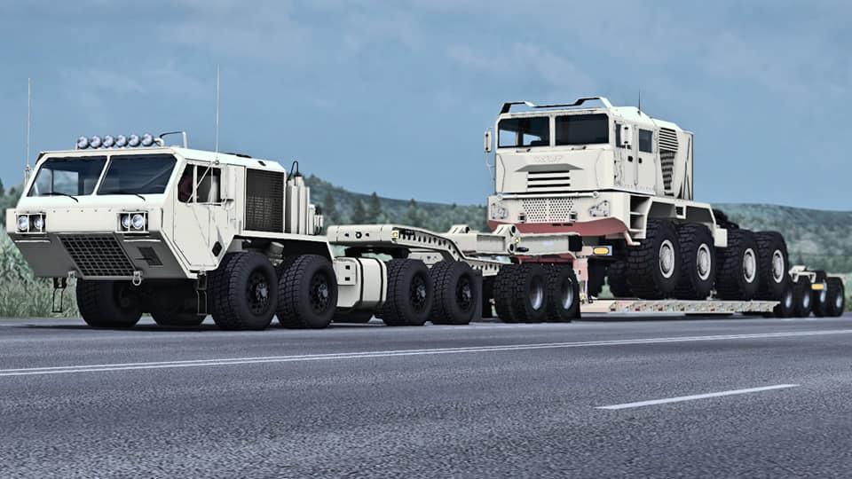 ETS2 - Oshkosh Hemtt Truck (1.36.x)