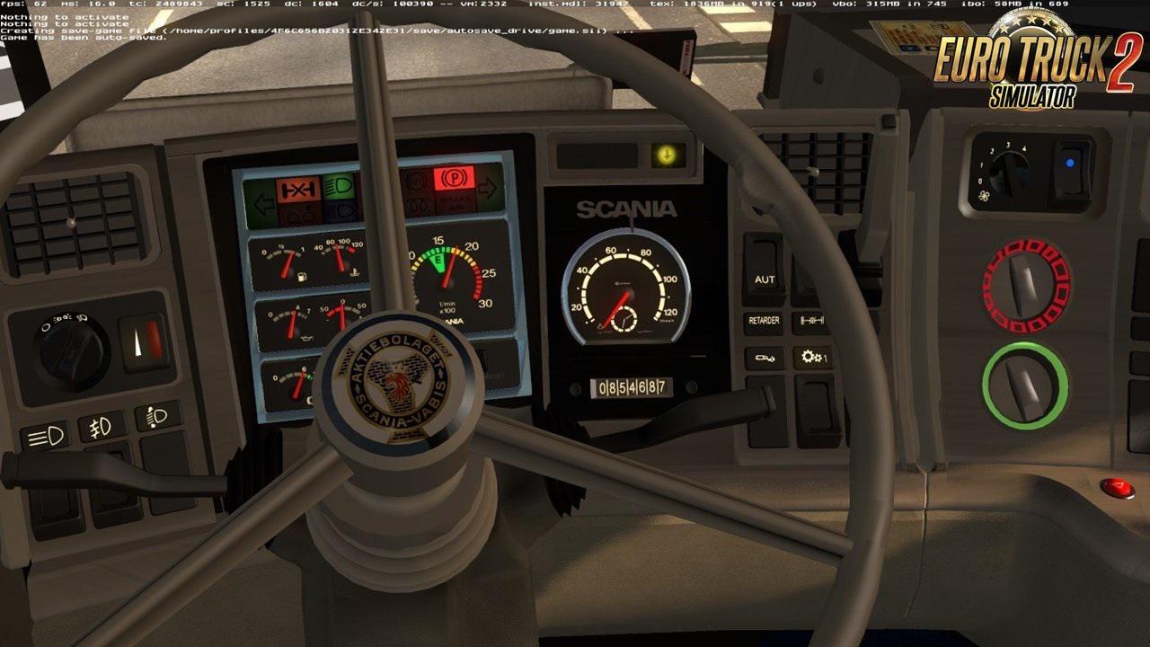 ETS2 - Scania 143M + Interior (1.35.X)