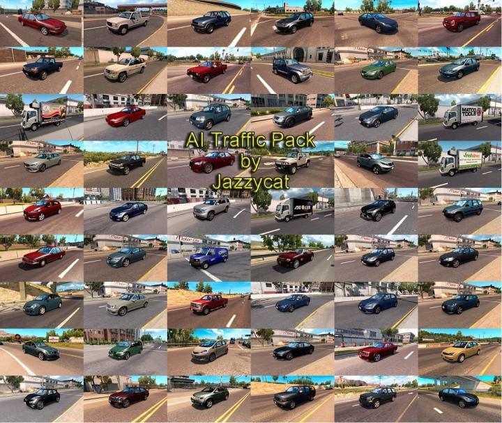 ATS - AI Traffic Pack V10.9 (1.40.x)