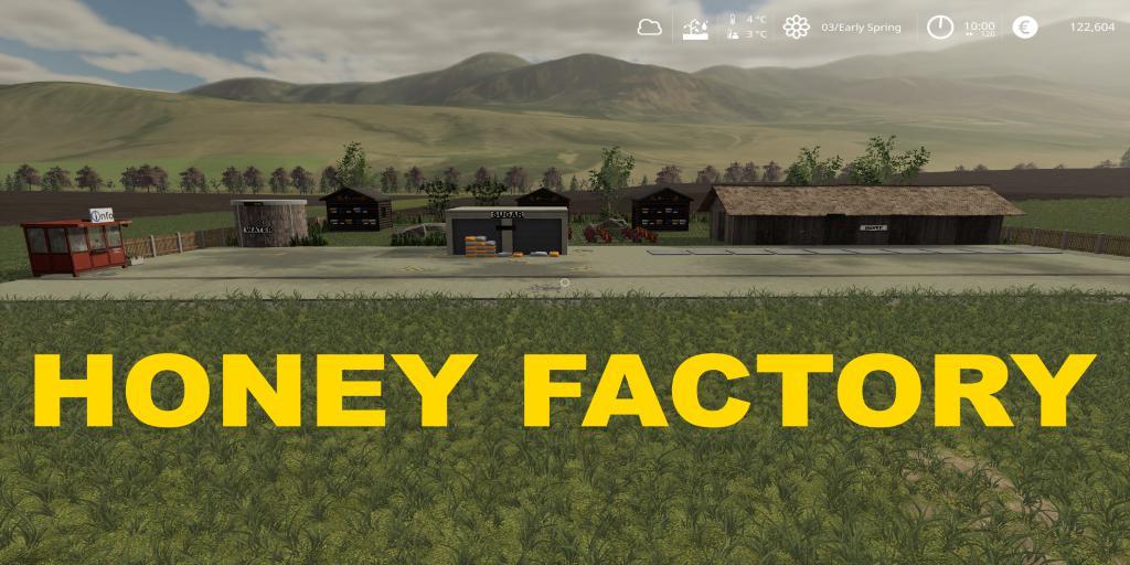 FS19 - Honey Placeable v1.0.5
