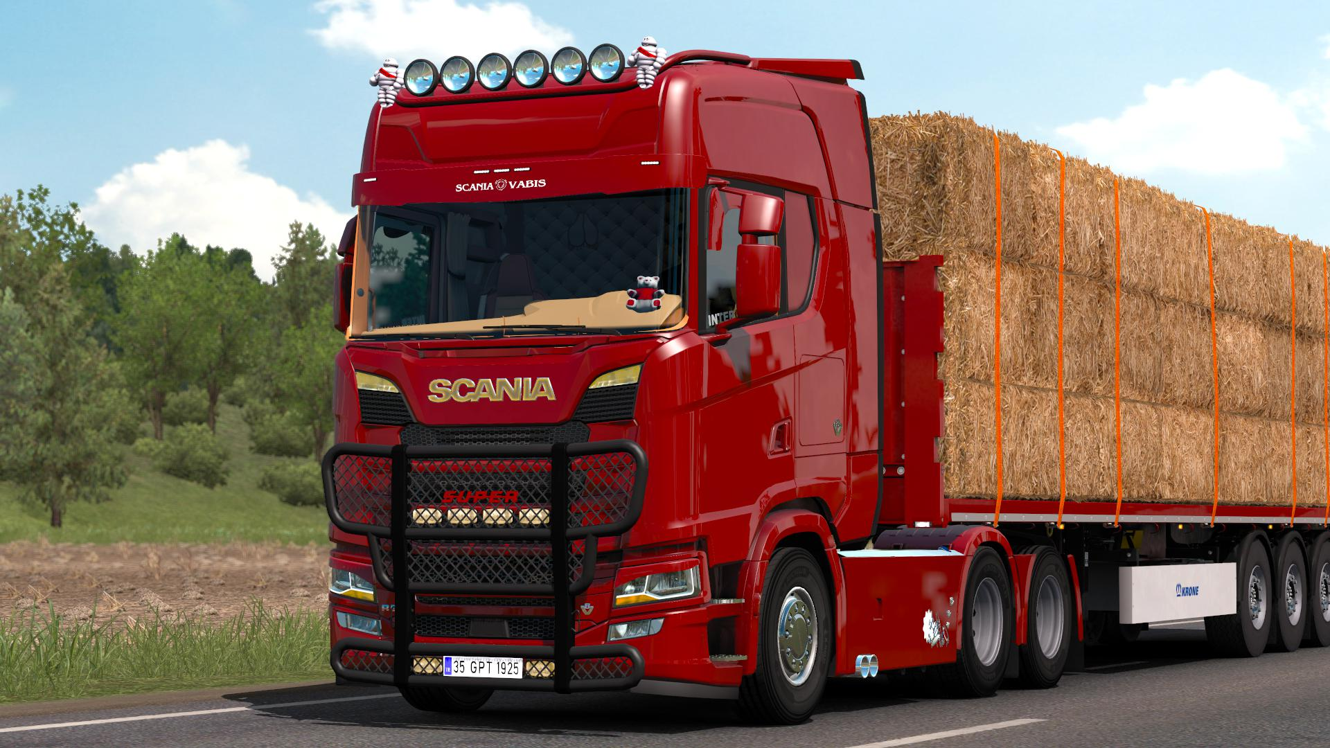 ETS2 - Scania S520 V8 Holland (1.38.x)