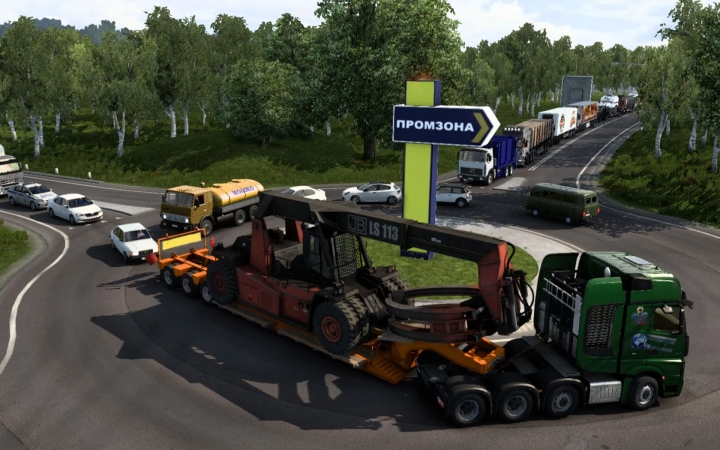 ETS2 - Fix Industrial Zone V11.0 (1.41.x)