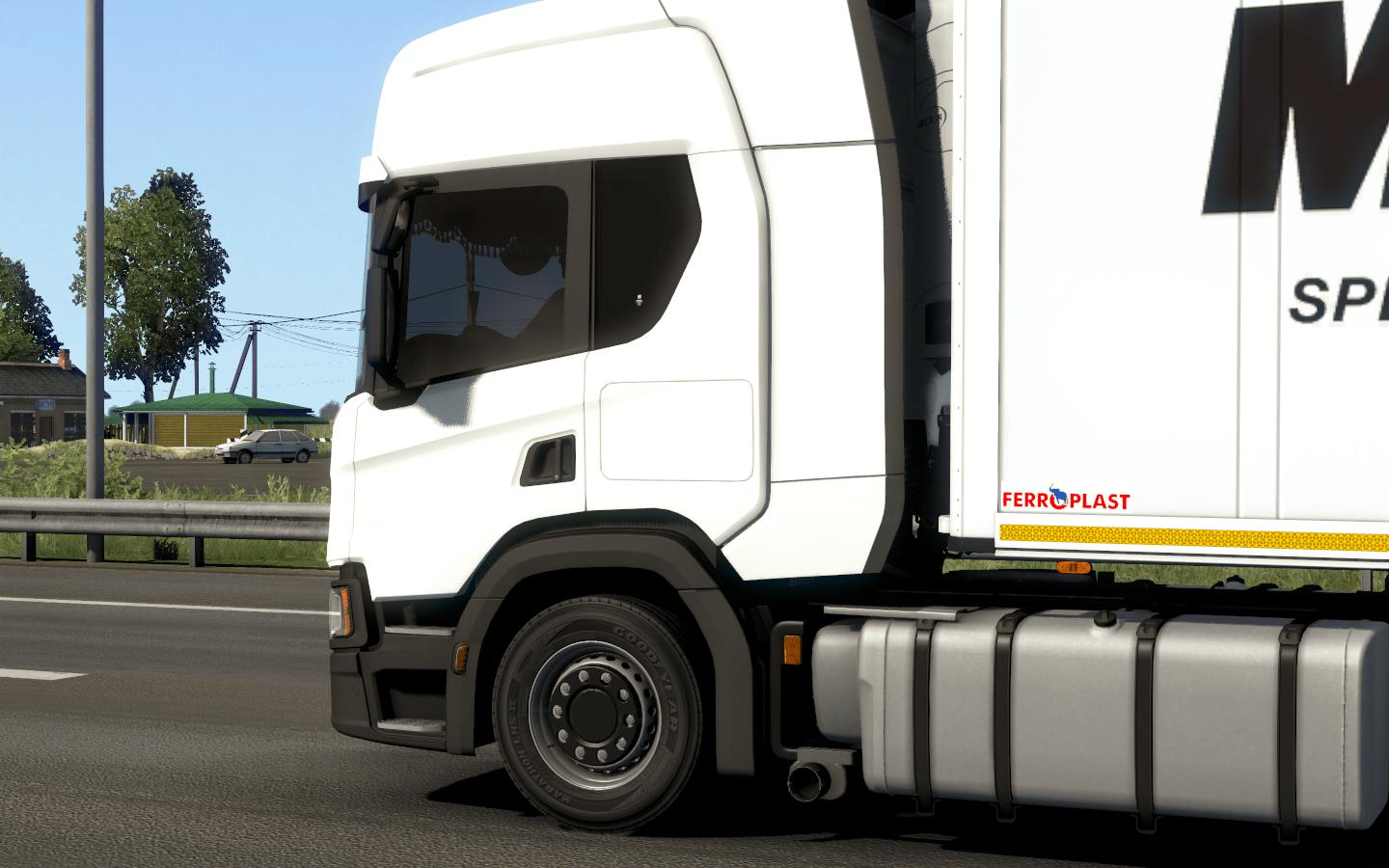 ETS2 - Side Window Tinting for Scania P G R S (1.38.x)