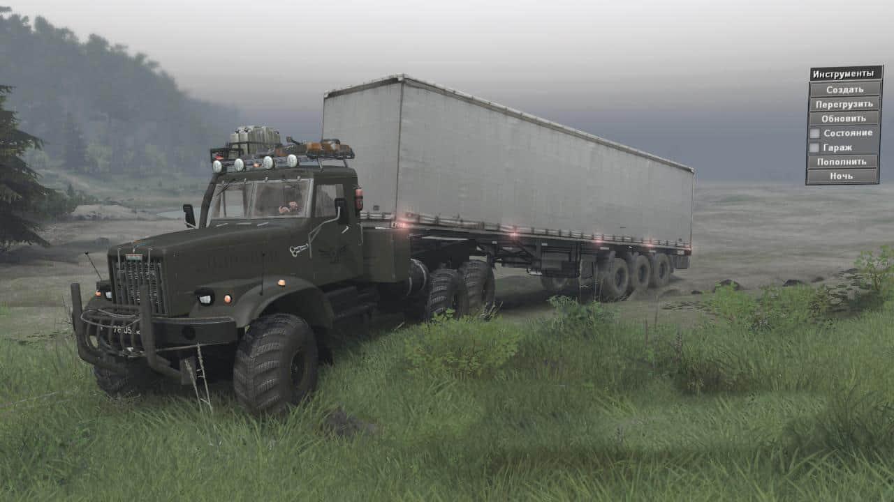 Spintires - Kraz 255 B1 Truck V1.2