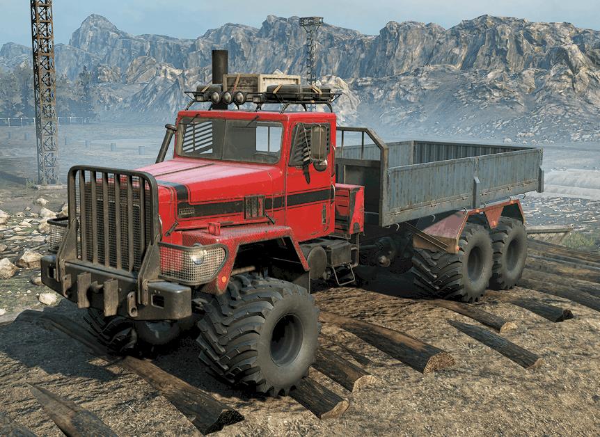SnowRunner - M181 International Paystar 5070 (Nomad) - Enhanced V1.0