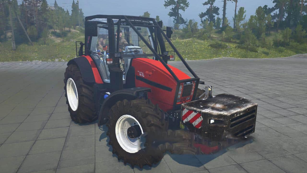 Spintires:Mudrunner - Same Fortis 190 Forestry Edition Tractor V1.0