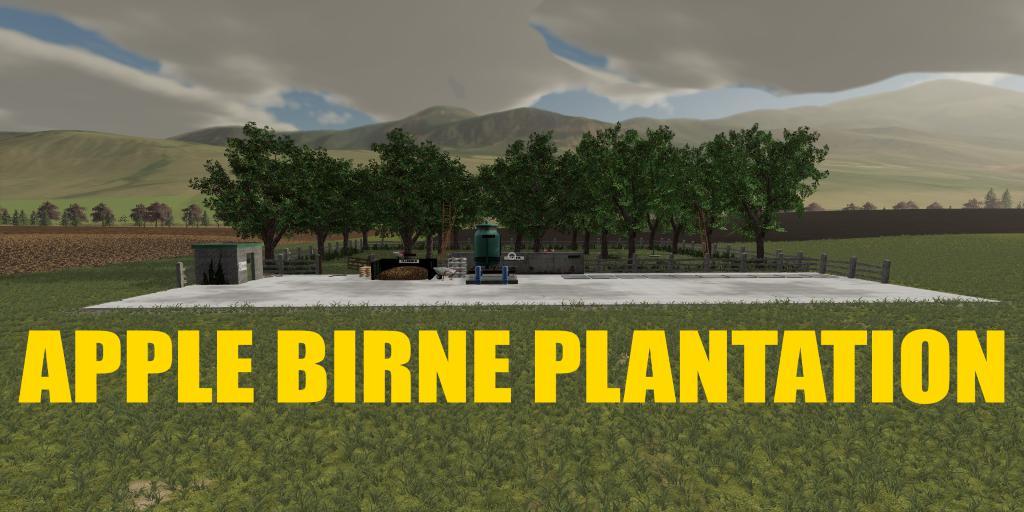 FS19 - Apfel Plantation V1.0.5