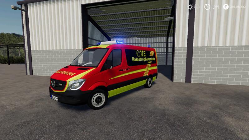 FS19 - Civil Protection of the Fire Brigade V2.0