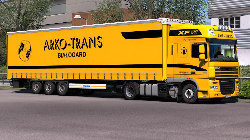 ETS2 - Krone Megaliner Skin Pack V1.8 (1.35.x)