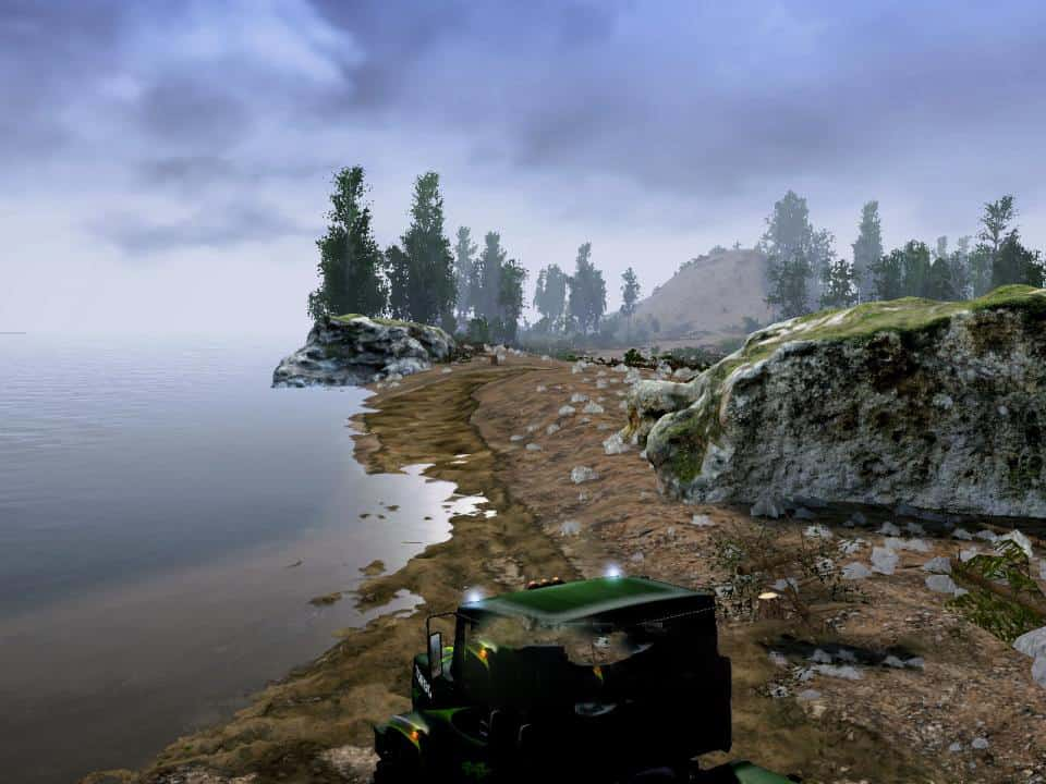 Spintires:Mudrunner - Into The Past Map V1