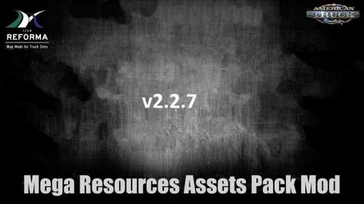 ATS - Mega Resources Mod V2.2.7 (1.41.x)