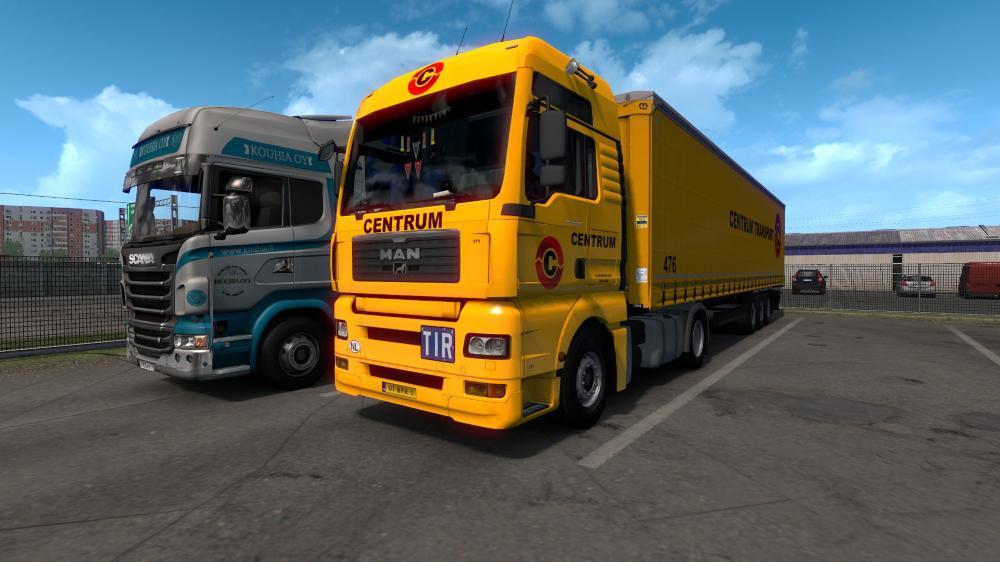 ETS2 - Centrum Transport Skin Pack V1.0 (1.36.X)