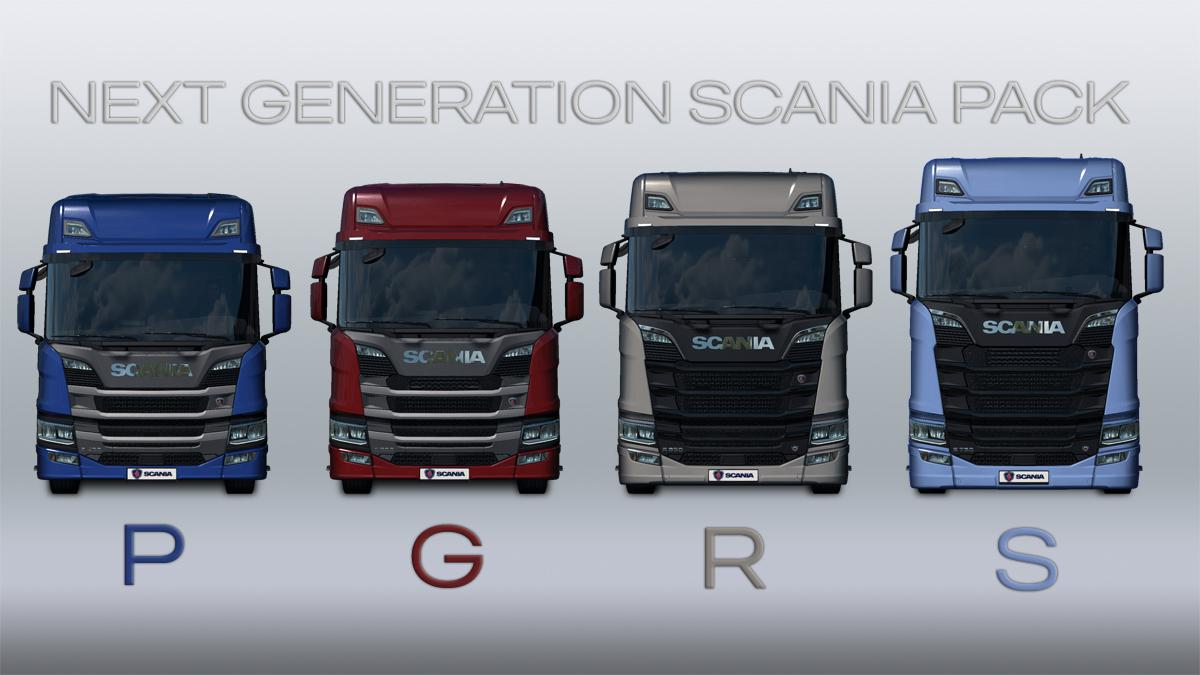 ETS2 - Next Generation Scania P G R S V2.0 (1.36.x)
