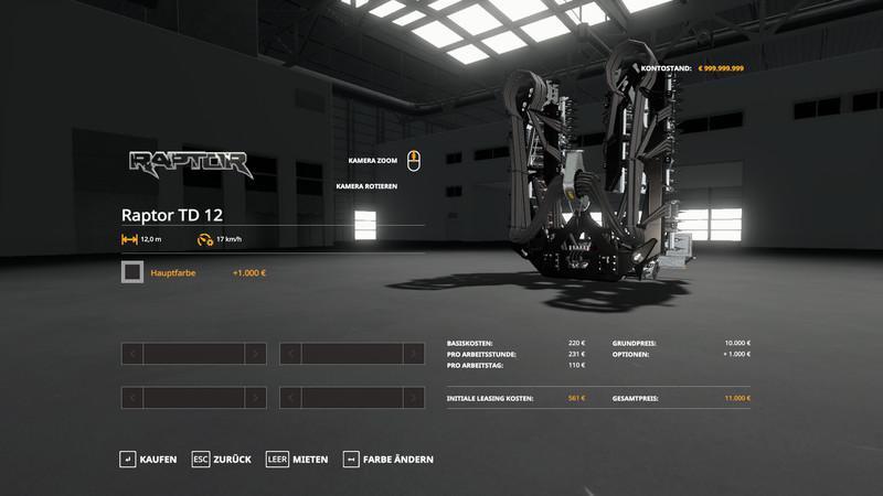 FS19 - Raptor Carbon Pack V1.5