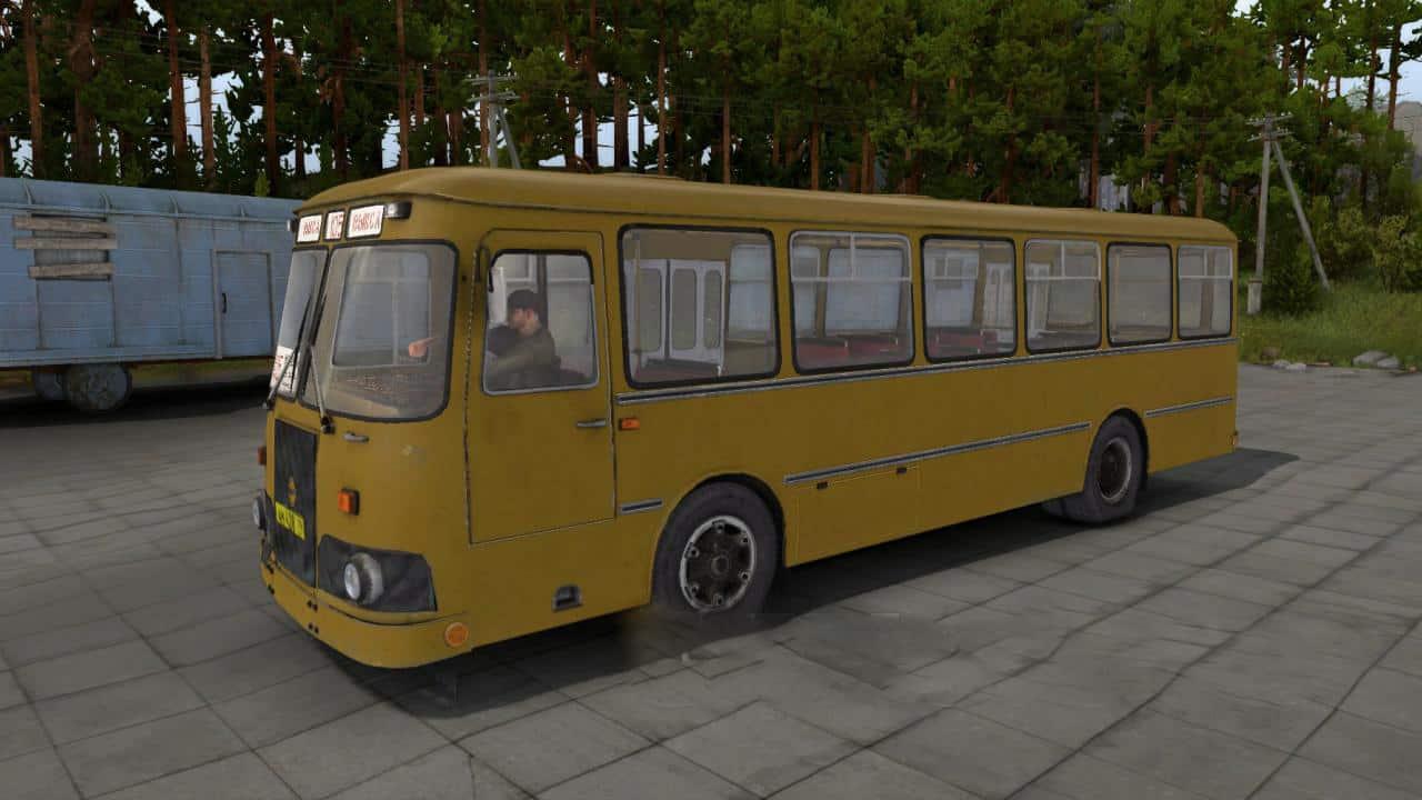 Spintires- LiAZ-677 Bus V1.0