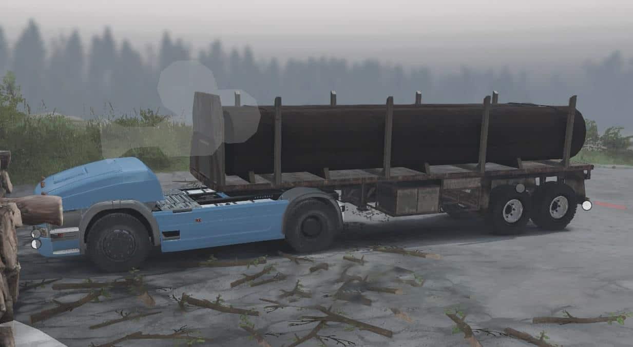 Spintires - Unmanned Truck 2 V1.0