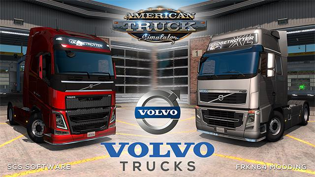 ATS - Volvo FH16 Trucks Mod V5.0 (1.36.x)