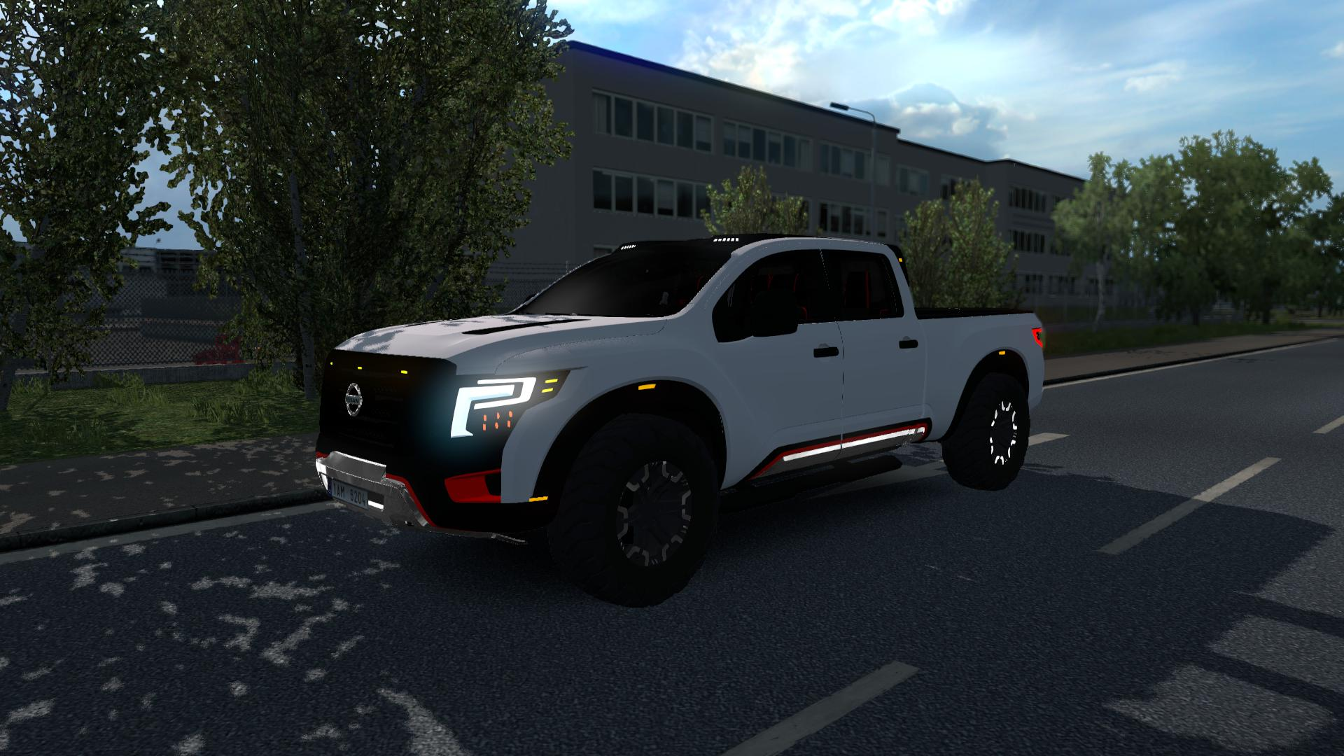 Ets2 Nissan Titan Warrior 1 36 X Euro Truck Simulator 2 Mods Club