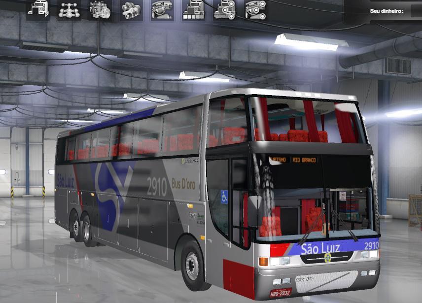 ETS2 - Busscar Jum Buss 400P - Volvo B12B (1.36.x)