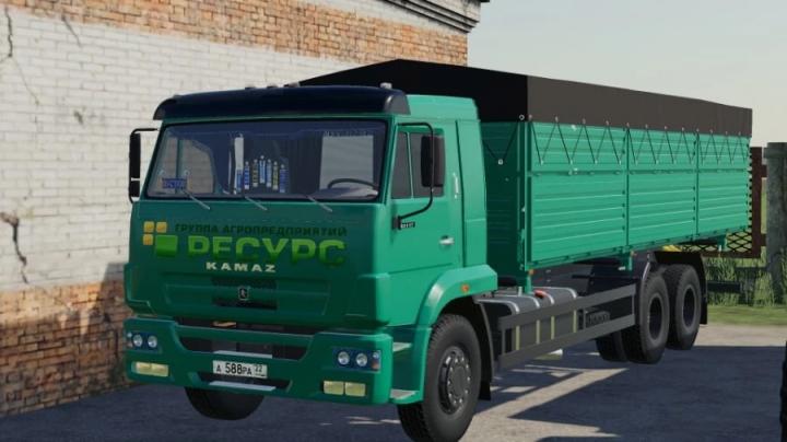 FS19 - Kamaz 65117 Grain Truck V1.1