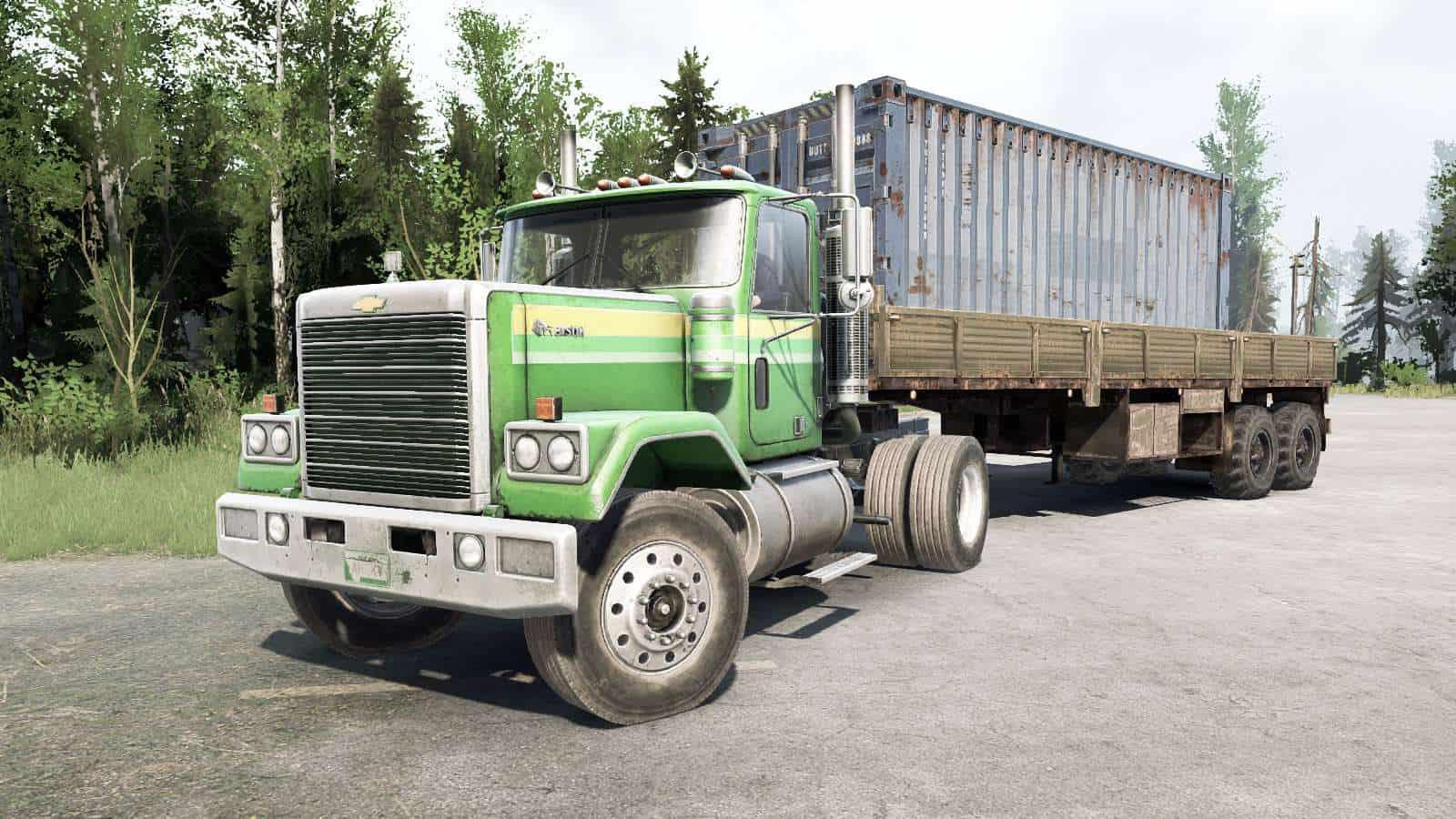 Spintires:Mudrunner - Chevrolet Bison 4x2 Truck