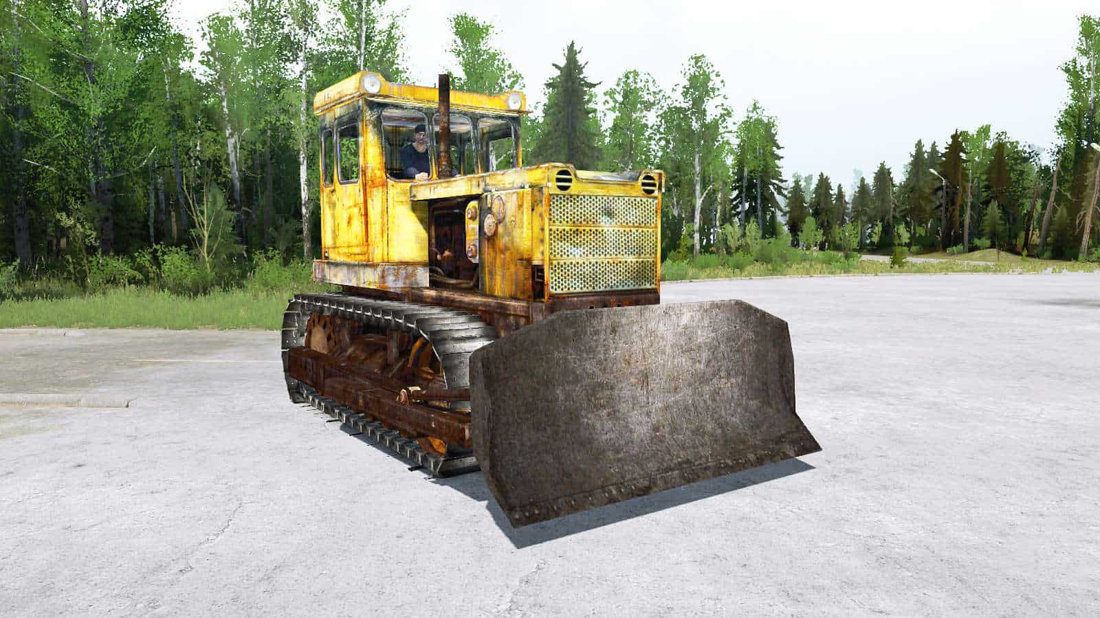 Spintires:Mudrunner - T-130 Tractor