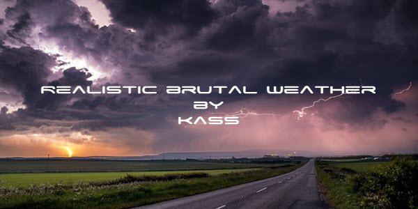ETS2 - Realistic Brutal Weather V4.2.2 (1.36+)