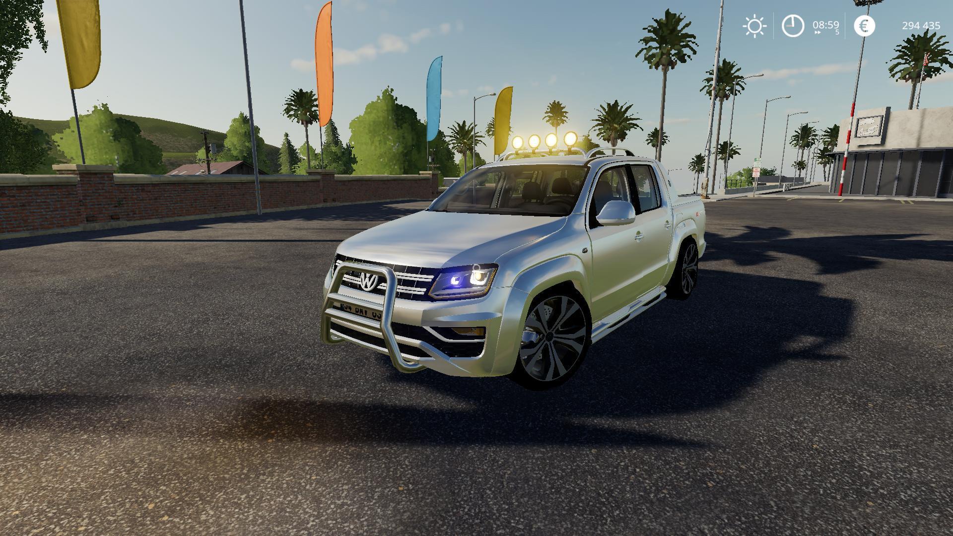 FS19 - Volkswagen Amarok V2.0