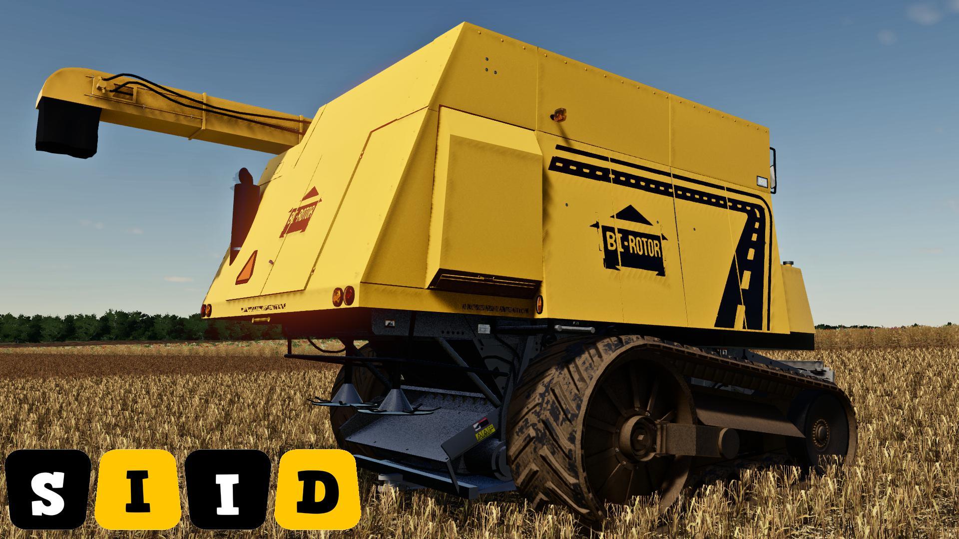 FS19 - Bi-Rotor XBR2 Harvester Mod V1.0