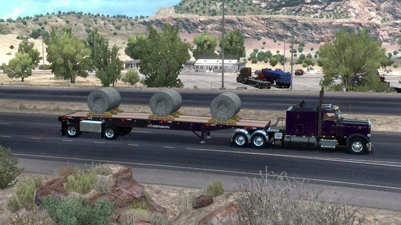 ATS - The Benson Flatbed Ownable V1.2 (1.39.x)