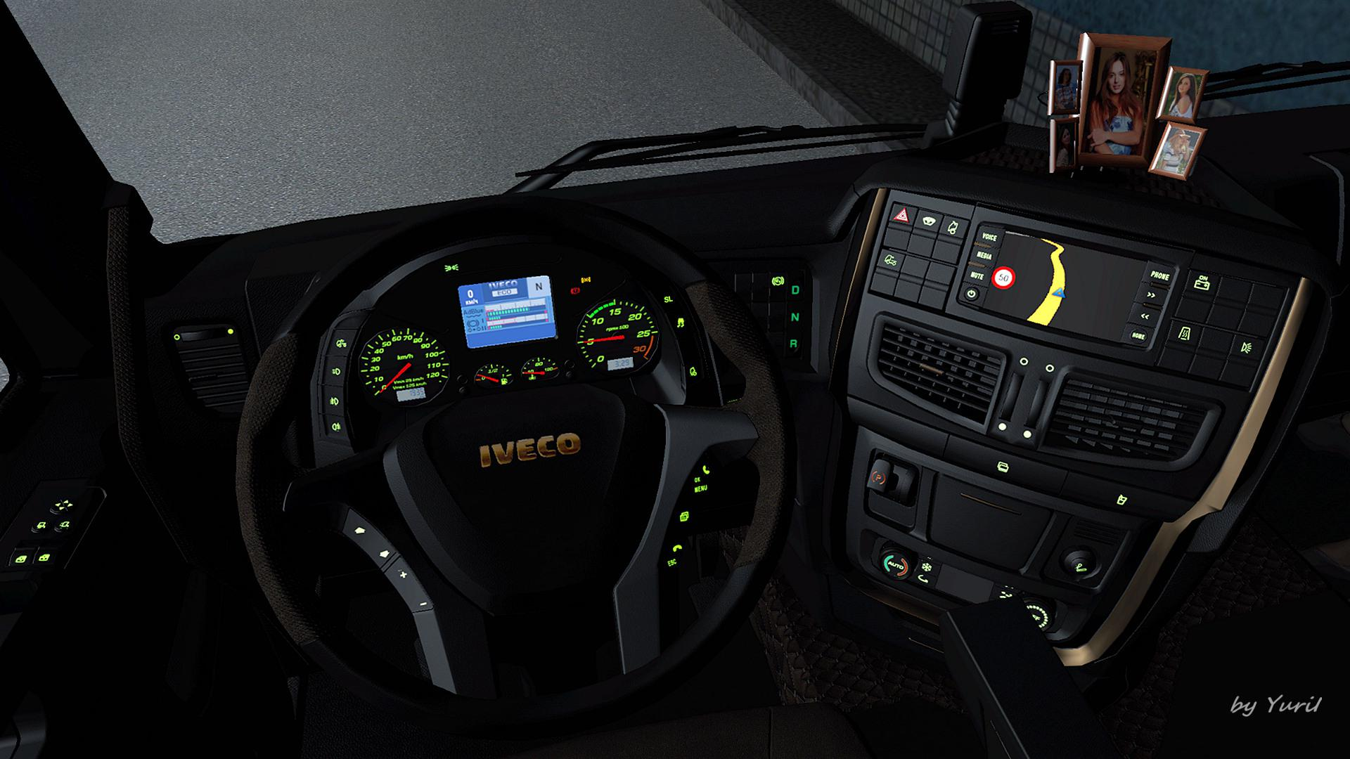 ETS2 - Dashboard Light Iveco Hi-Way Pack V0.9 (1.39.x)