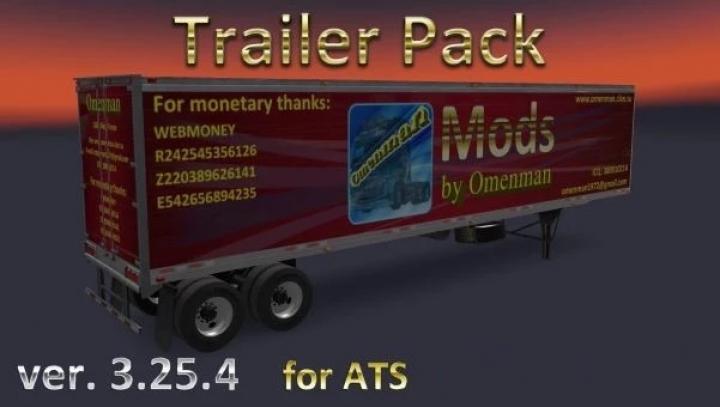 ATS - Trailer Pack V3.25.4 (1.41.x)