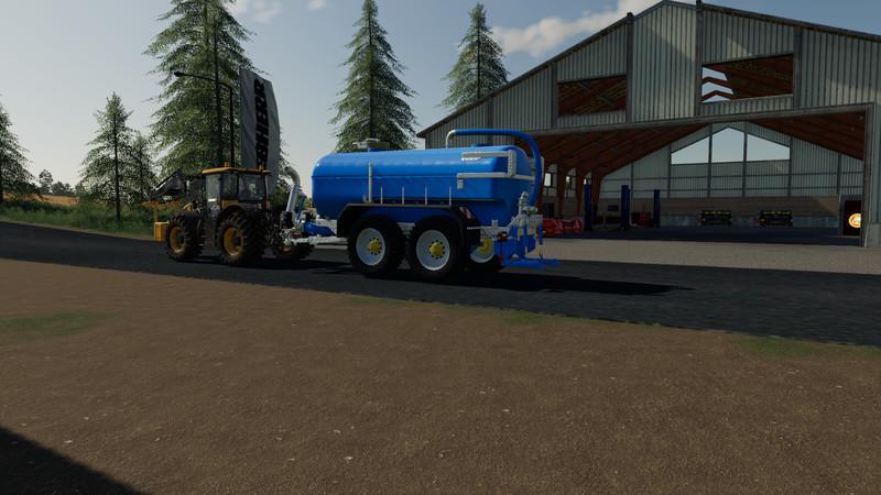 FS19 - Zunhammer Milk Water Trailer V1.0