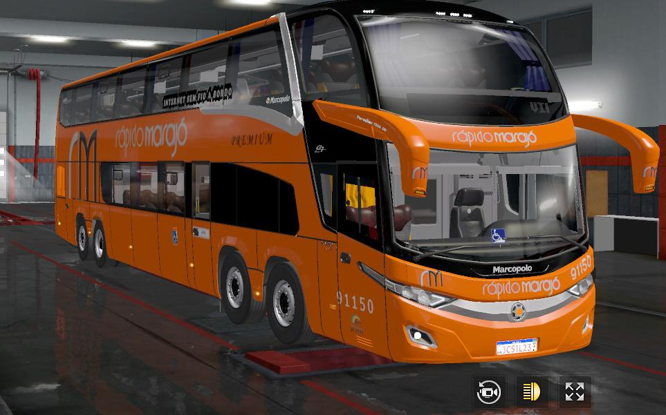 ETS2 - Marcopolo Paradiso New G7 Volvo Bus V1.0 (1.36.x)