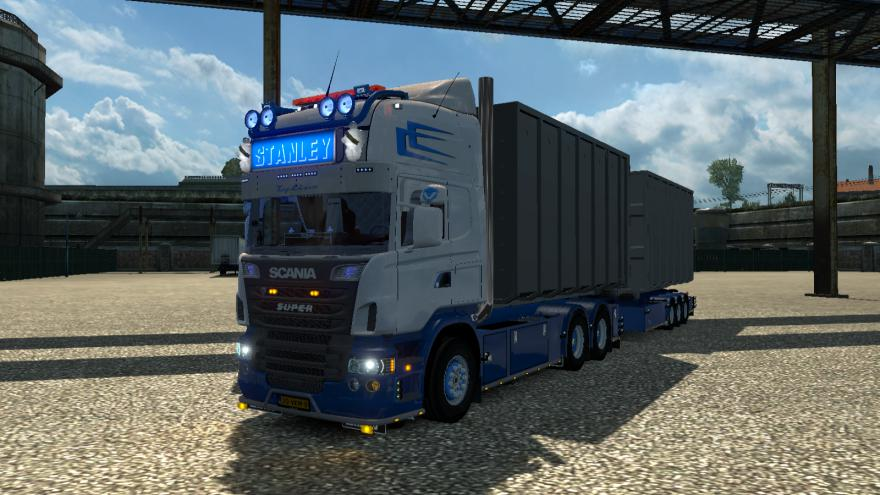 ETS2 - Scania Abroll Truck (1.37.x)