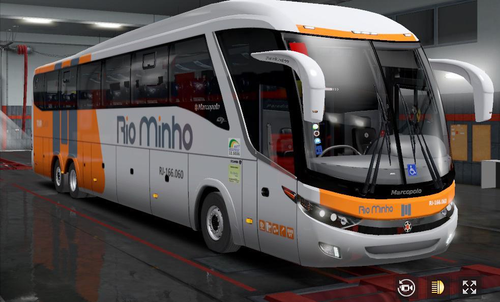 ETS2 - Marcopolo SC 6x2-A Bus V2.7 (1.36.x)